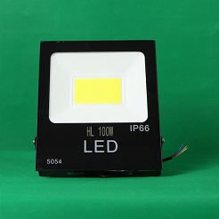Đèn Led pha HL 100w đủ công suất, đèn sân vườn, đèn pha led giá rẻ